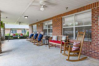 Adams Rehabilitation Center Front Porch