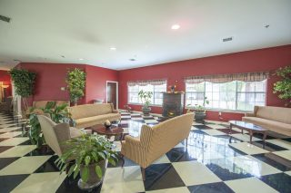 Lobby with Sofas