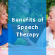 speech therapy benefits